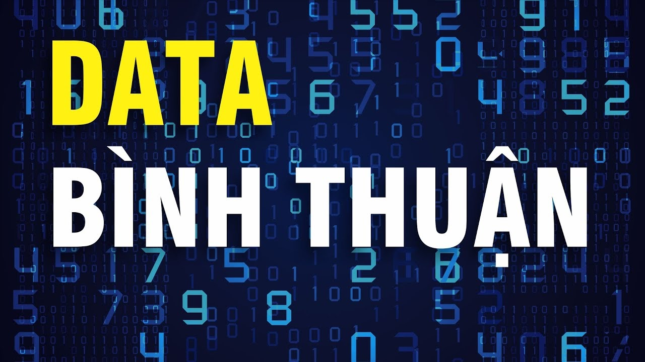 Data of Binh Thuan customers