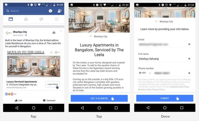 Benefits of using Facebook customer data